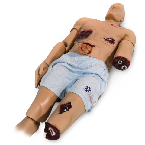 胴体部外傷キット,出血ポンプ