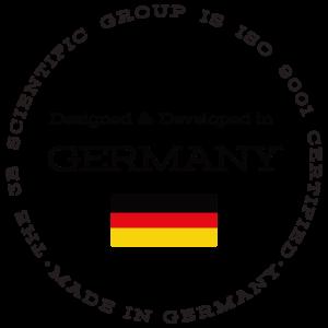 ドイツ3B社が設計・品質管理している製品のマーク