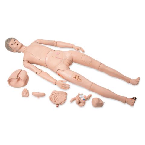デラックス看護用シミュレーター,内臓付