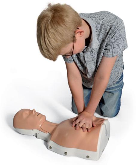 小児モードでのCPRトレーニング