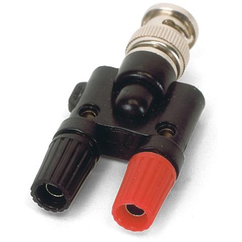 BNC-4mmジャック変換アダプター