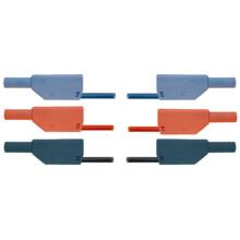 プラグ付き安全リード線・75cm・15本セット