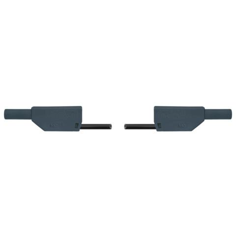 プラグ付き安全リード線・75cm,2本セット