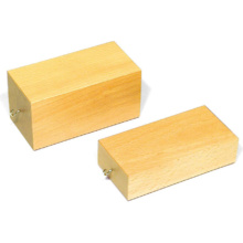 摩擦実験用木製ブロック
