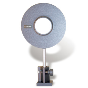 凸レンズ,絞り50mm,焦点距離+200mm