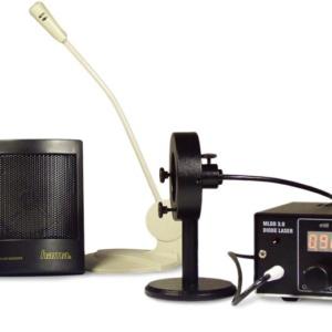 レーザー通信の実験例