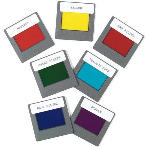 7色カラーフィルターセット