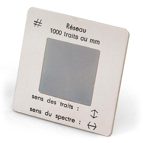 回折格子,1000本/mm