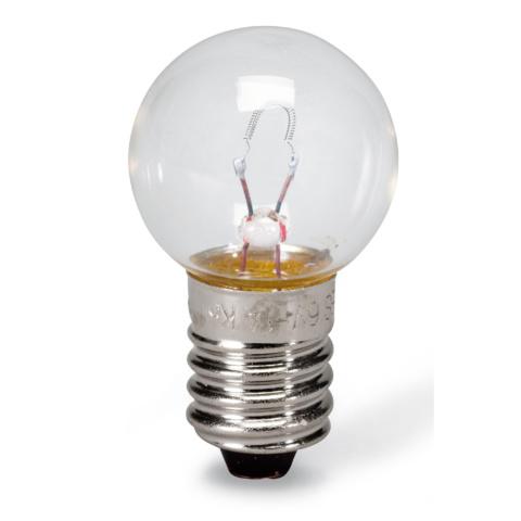E10電球,6V/1A,10個セット