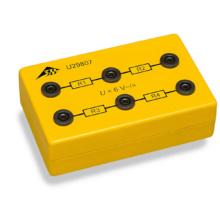 未知抵抗器付き3Bボックス