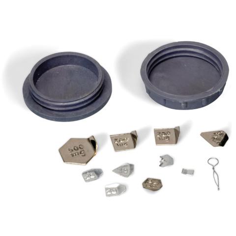 微小質量分銅セット・1 mg〜500 mg