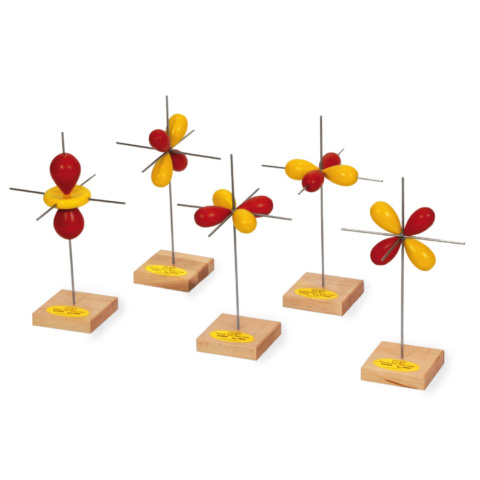 d軌道模型5個セット