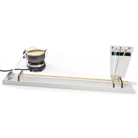 線膨張率の比較実験器