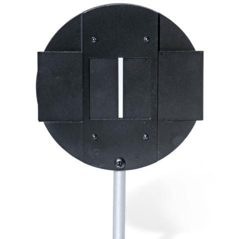 遮蔽板付き光学部品ホルダー