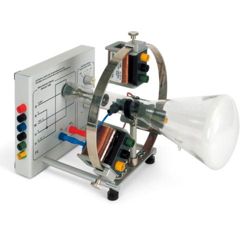 電磁場内電子線トラジェクトリ観察機