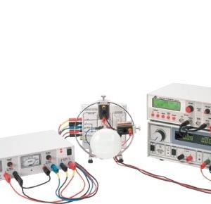 電磁場内電子線トラジェクトリ観察機の実験例