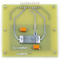 ノンドープGe搭載プリント回路基板