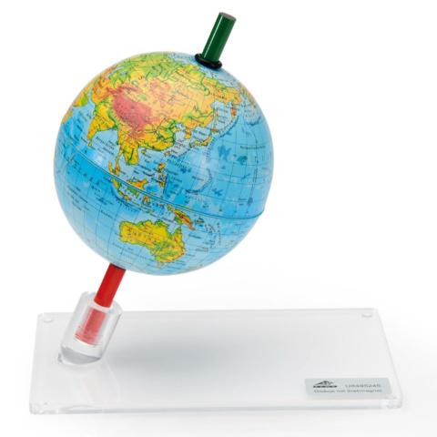 地磁気観察地球儀