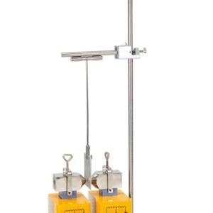 コイル・磁極片(各別売り)を使用した振り子の実験例
