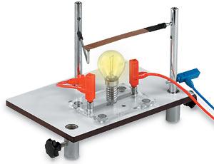 電球を使用した実験例
