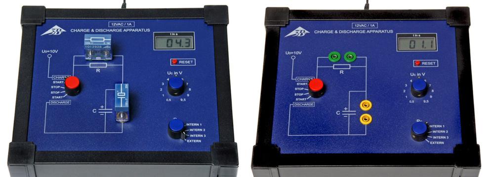 コンデンサーの充放電特性