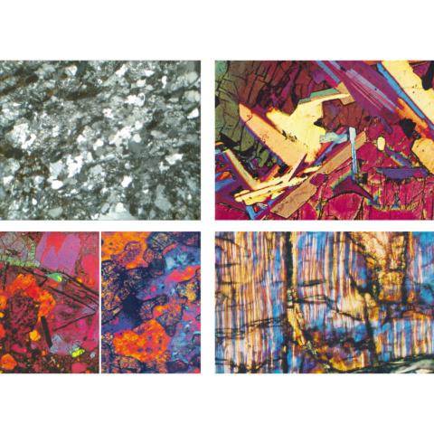 化石と隕石,英語版