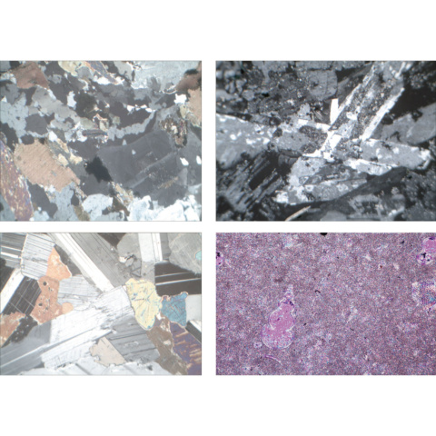 岩と鉱物〜基本セットI,英語版