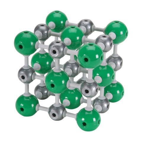 塩化ナトリウム結晶構造模型組立キット
