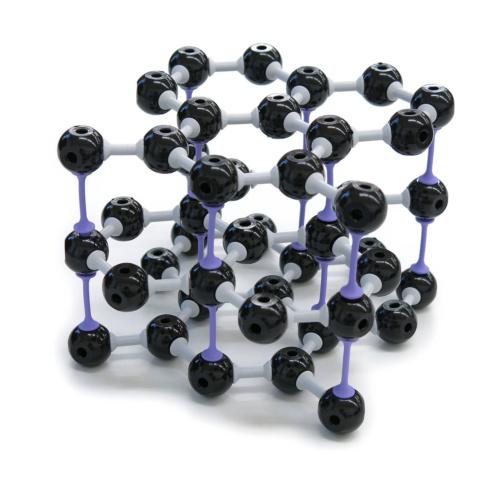 グラファイト結晶構造模型組立キット