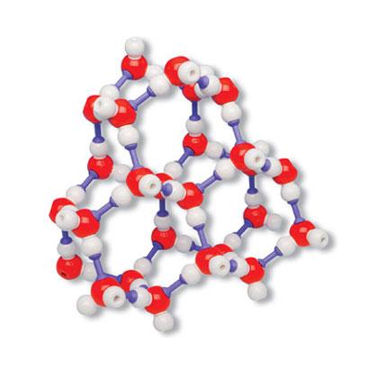 氷の結晶構造模型組立キット