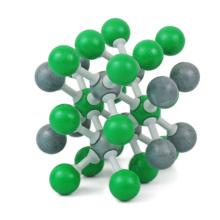 塩化セシウム分子模型