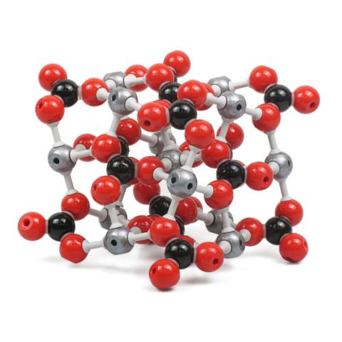 方解石(カルサイト)分子模型