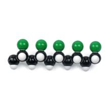 ポリ塩化ビニル(PVC)分子模型組立キット