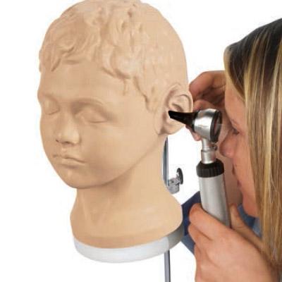 耳鏡での診察