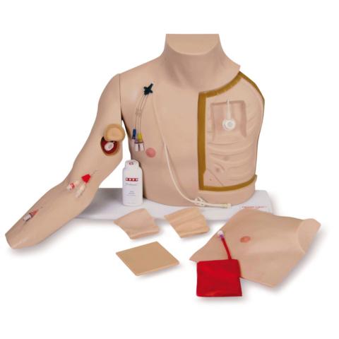腕部付中心静脈挿管シミュレーター
