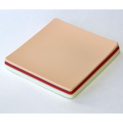 縫合プレート,二層L,皮膚厚5mm