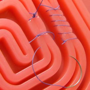 トレパッド 渦巻の使用例