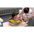 乳幼児の臀部浴と上半身清拭