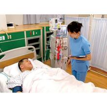 慢性腎不全の血液透析患者の看護事例